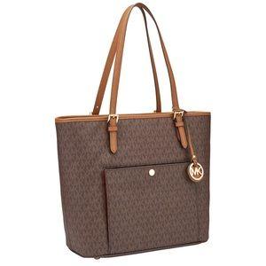 Michael Kors large travel tote bag purse